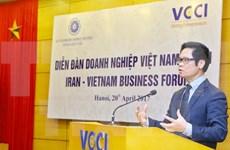 Promueven oportunidades de cooperación comercial Vietnam – Irán