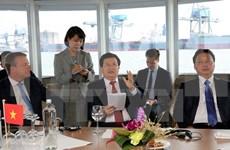 Vietnam desea estudiar experiencias neerlandesas en construcción de puertos marítimos
