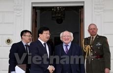 Concluye vicepremier vietnamita visita oficial a Irlanda