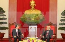 Líderes vietnamitas reciben a presidente del Parlamento sudcoreano