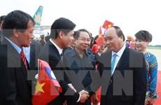 Premier de Vietnam efectúa visita oficial a Laos