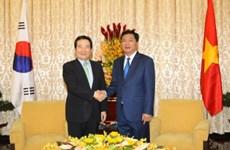 Ciudad Ho Chi Minh desea mayor cooperación con Sudcorea