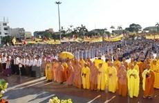 Felicitan a comunidad budista vietnamita por Vesak 2017