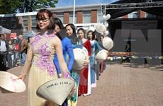 Imágenes de Vietnam en Festival Primaveral en Bruselas conquistan corazón de participantes