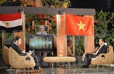 Televisión egipcia transmite en vivo programa sobre Vietnam