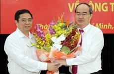 Nguyen Thien Nhan designado como secretario del Comité del PCV en Ciudad Ho Chi Minh