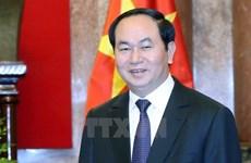 Presidente de Vietnam exhorta a mayor inversión china