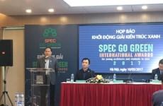 Lanzan en Vietnam concurso de arquitectura verde Spec Go Green