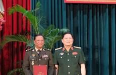Generales camboyanos obtienen títulos de doctorado en Vietnam