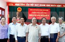 Primer ministro de Vietnam dialoga con electores de ciudad norteña