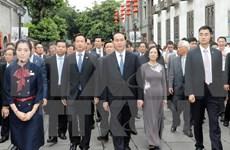 Presidente vietnamita recorre la provincia china de Fujian