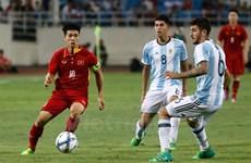 Fútbol: Selección sub-22 de Vietnam cae en partido amistoso con Argentina