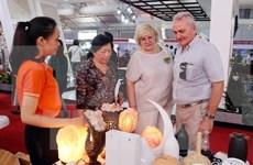 Presentes empresas extranjeras en exhibición de sector de construcción en Hanoi