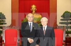 Vietnam atesora lazos con Myanmar, asevera líder partidista