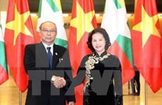 Líder legislativo de Myanmar concluye visita a Vietnam