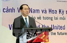 Presidente Dai Quang: Vietnam da la bienvenida a inversionistas estadounidenses
