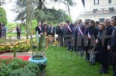 Celebran en Francia diversas actividades por natalicio del Presidente Ho Chi Minh