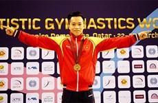 Gimnasta vietnamita conquista medalla de oro en competencia continental