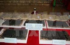 Exhiben en Hanoi planchas xilográficas declaradas patrimonio documental mundial