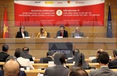 Efectúan Foro Económico Vietnam-España
