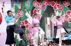 Jóvenes vietnamitas y japoneses realizan intercambios culturales