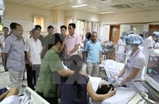 Vicepremier de Vietnam atiende directamente incidente médico grave en Hoa Binh