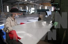 Vietnam aplicará medida de autodefensa a importaciones de chapas de colores
