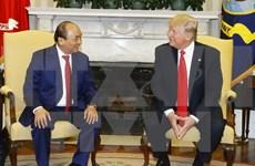 Premier vietnamita culminó su visita a EE.UU. y regresa a Hanoi