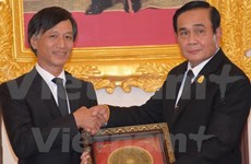Premier de Tailandia destaca relación con Vietnam