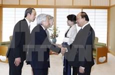 Premier vietnamita se reunió con Emperador Akihito de Japón