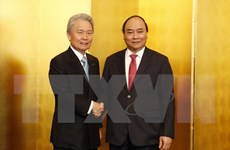 Premier vietnamita se reúne con representantes de Federación Empresarial de Japón