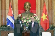 Vietnam dispuesto a apoyar a Cuba, afirma presidente Tran Dai Quang