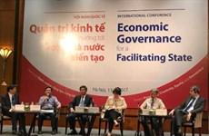 Intercambian en Vietnam experiencias internacionales sobre gobernanza económica