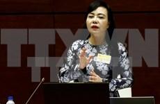 Ministra de Salud expone ante el Parlamento situación de servicios médicos a nivel base
