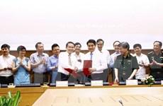 Hanoi y Agencia vietnamita de Noticias firman acuerdo de cooperación