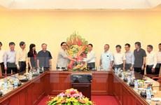 Congratulan a VNA por Día de Prensa Revolucionaria de Vietnam