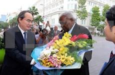 Presidente parlamentario de Cuba visita Ciudad Ho Chi Minh