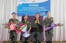 Vietnam mantiene posición destacada en operaciones de la ONU en África