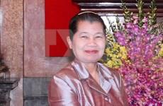Vicepremier camboyana destaca apoyo de Vietnam a construcción de la paz en su país