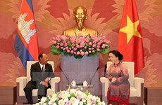 Robustecen nexos interparlamentarios Vietnam-Camboya
