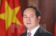Presidente de Vietnam parte a Belarús para visita oficial