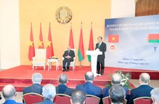 Vietnam y Belarús promueven nexos económicos