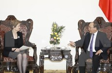 Premier de Vietnam recibe a enviada especial del jefe de gobierno australiano