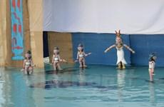 Escenifican en Vietnam obra inspirada en show de marionetas acúaticas