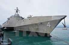 Armadas de Vietnam y Estados Unidos realizan programa de intercambio