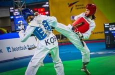 Taewondista vietnamita gana medalla de oro en Sudcorea