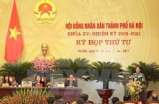 Clausuran cuarta reunión del Consejo Popular de Hanoi de XV mandato