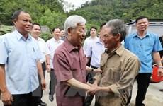Dirigente partidista vietnamita visita provincia de Bac Kan