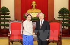Dirigente partidista reafirma apoyo vietnamita a empresa de renovación de Laos