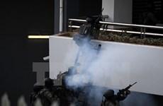 Policía malasia realiza ejercicio de gran envergadura por SEA Games 2017